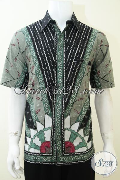 Baju Batik Modern Pria Motif Bagus Bahan Bagus Tidak
