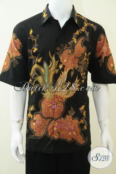 Jual baju batik tulis modern untuk pria hem batik Jual baju gamis untuk pria