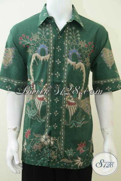 Baju Batik Tulis Premium Istimewa Untuk Pria Berbadan Gemuk, Baju Batik Resmi Laki-Laki Gemuk Terlihat Langsing, Size XXL