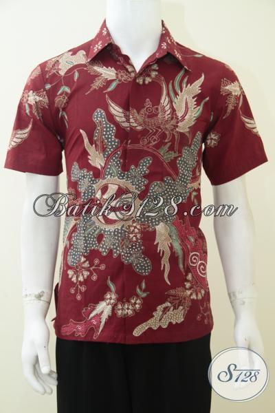 Batik Cowok Ukuran S Dewasa Baju Kemeja Batik Tulis Keren