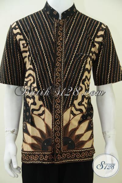 Kemeja Batik Pria Model Koko, Baju Batik Lebaran Krah Shanghai Trendy ...