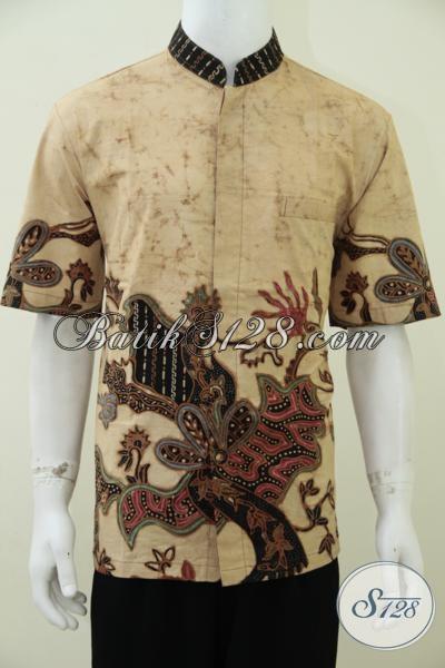 Baju Batik Koko Muslim Elegan, Mewah, Berkelas, Berkualitas, Nyaman Dipakai [LD2394TSK-L]