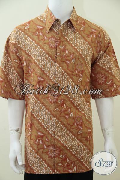 Hem Batik Spesial Untuk Pria Gemuk Agar Tetap Terlihat Trendy Dan Modis, Kemeja Batik Lengan Pendek Ukuran Jumbo, Size XXL