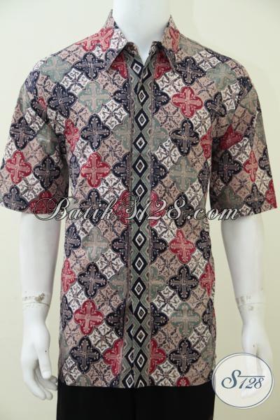 Hem Batik Premium Proses Cap Tulis Baju Batik Motif Trend