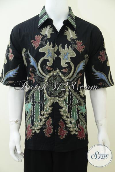 Batik Solo Klasik Modern Model Hem Untuk Pria Sejati Baju