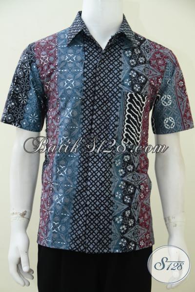 Jual Online Aneka Kemeja Batik Gaul Warna Gradasi Keren 25ccfbfe15