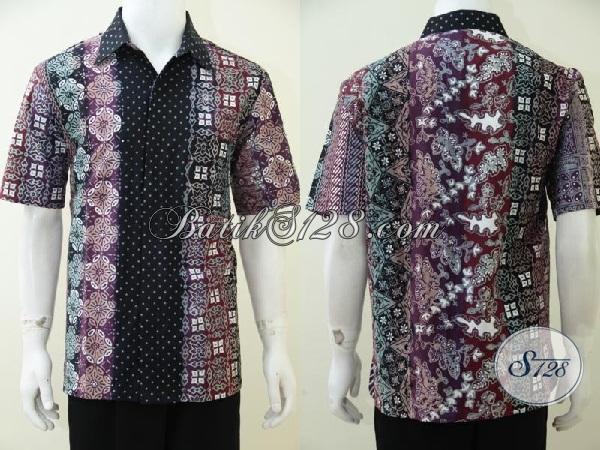 Tempat Belanja Baju Batik Online Lengkap Jujur No Tipu, Sedia Kemeja Batik Gradasi Trend Busana Pria Terkini, Baju Batik Lengan Pendek Kwalitas Premium Harga Minimum, Size L