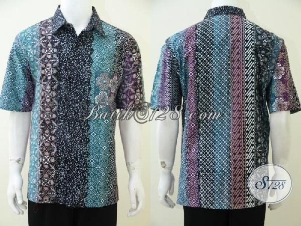 Pusat Belanja Batik Solo Online Amanah Terpercaya, Sedia Aneka Batik Trendy Warna Gradasi Mewah Berkelas Harga Terjangkau [LD2525CTG-XL]