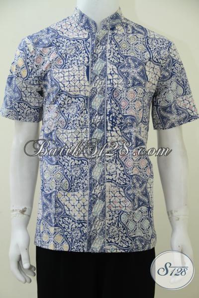 Jual Busana Batik Koko Aneka Motif Terbaru Trend Masa Kini, Hem Batik Lengan Pendek Untuk Pria Tampil Lebih Modern Dan Modis [LD2539CK-M]