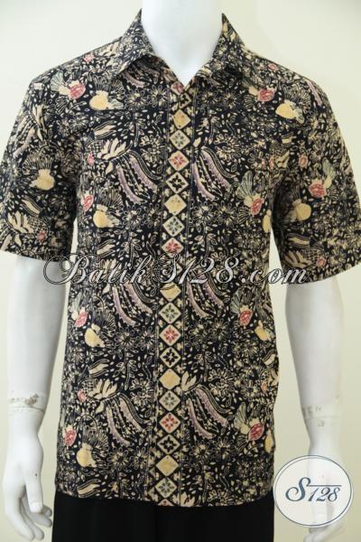 Tempat Belanja Batik Online Terpercaya, Sedia Kemeja Batik Pria Muda Dan Dewasa Model Terbaru Maa Kini, Bisa Untuk Kerja Kondangan Maupun Santai [LD2569CT-M]