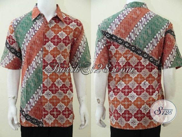 Pakaian Batik Pria Muda Masa Kini Lebih Trendy Dan Fashionable, Tersedia Juga Ukuran Jumbo Untuk Mereka Yang Berbadan Besar, Size XXL