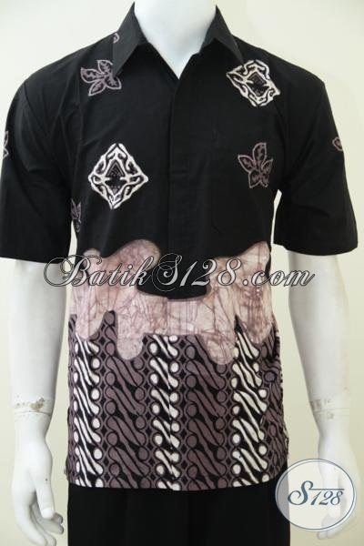 Online Shop Busana Batik Pria Desain Masa Kini, Hem Batik Lengan Pendek Dengan Motif Unik Dan Simple Untuk Cowok Tampil Trendy Dan Makin Tampan [LD2583CT-M]