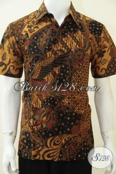Jual Aneka Pakaian Batik Solo Motif Klasik, Hem Batik Lengan Pendek Membuat Pria Tampil Gagah Dan Elegan, Size M – L – XL