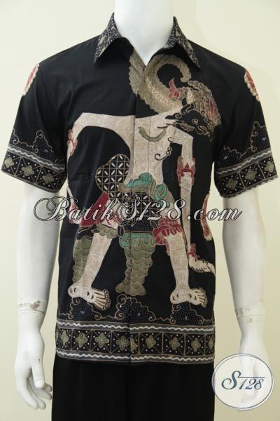 Hem Batik Tulis Motif Wayag Bima Untuk Laki-Laki Tampil Macho, Baju Batik Lengan Pendek Berkwalitas Harga Terjangkau [LD2632T-M]