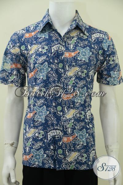 Toko Online Batik Solo Terlengkap Dan Terpercaya, Jual Pakaian Batik Pria Masa Kini Motif Trendy Untuk Pria Muda Tampil Beda [LD2750CT-S]