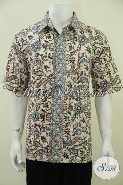 Tempat Belanja Baju Batik Online Aman Terpercaya, Sedia Baju Batik Kerja Pria Karir Dengan Motif Terbaru Yang Lebih Trendy Dan Fashionable, Size XL