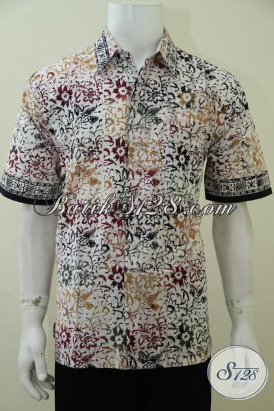 Toko Batik Modern Khas Solo, Baju Batik Pria Muda Dan Dewasa Untuk Tampil Fresh Keren Serta Modis Dengan Harga Terjangkau, Size L