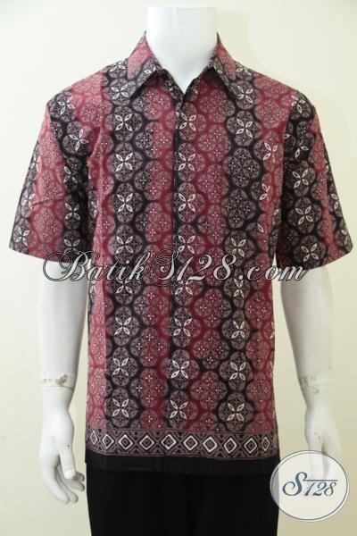 Distro Pakaian Batik Modern Khas Solo, Sedia Kemeja Batik Motif Keren Dengan Kombinasi Warna Trendy Yang Pas Banget Untuk Anak Muda, Size L