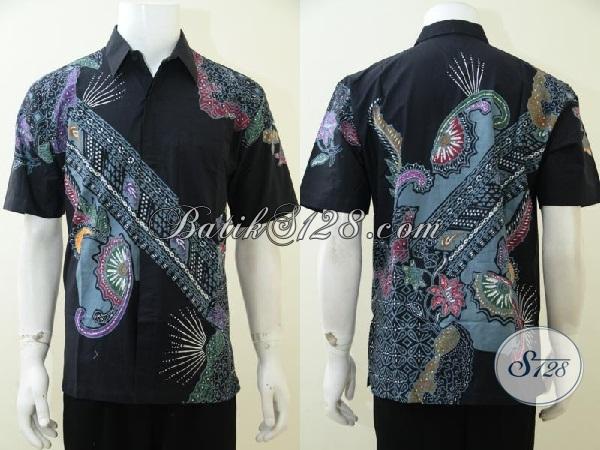 Upgrade Fashion Batik Pria Terbaru Dengan Kemeja Batik Solo Motif Modern Dengan Motif Trendy Yang Pas Buat Kerja Dan Santai, Size M