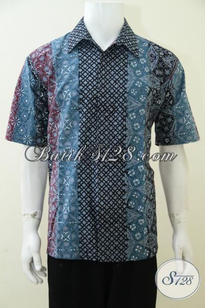 Online Shop Pakaian Batik Pria Terlengkap, Jual Kemeja Batik Motif Terbaru Yang Pas Buat Kerja Serta Modis Untuk Hangouts, Size XL