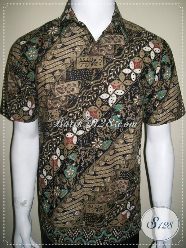 Kemeja Batik Cap Kombinasi Tulis Dan Colet 8b12f9a239