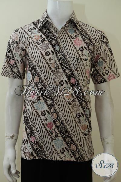 Baju Kemeja Batik Cowok Modern Muda Maupun Dewasa, Pakaian Batik Motif Trend Terkini Siap Tampil Rapi Dan Tampan Di Segala Aktifitas, Size S