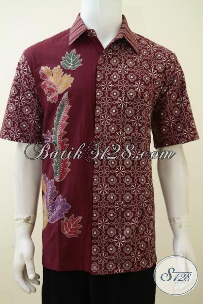 Batik Online Terlengkap Di Solo, Baju Batik Cap Tulis Halus Dan Istimewa, Pakaian Batik Keren Kwalitas Premium, Size L