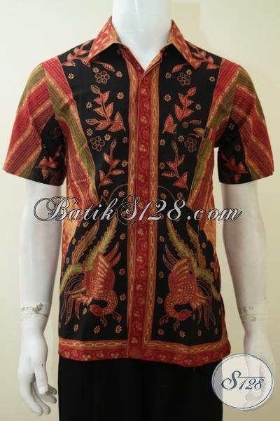 Baju Unik Batik Lengan Pendek Bagus Ukuran S Kecil [LD3309BT-S]