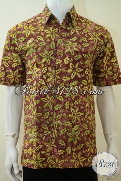 Kemeja Batik Halus Harga Murmer, Batik Seragam Kerja Trend 2017 Cap Smoke Warna Dan Motif Unik Membuat Penampilan Lebih Keren, Size S – M – XL