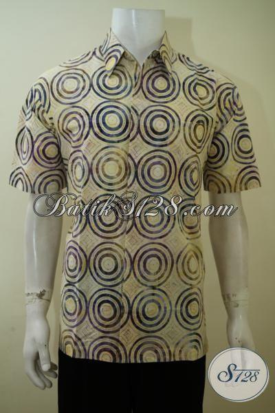 Hem Batik Anak Muda Motif Simple, Baju Batik Print Unik Trend Terkini, Batik Gaul 2015 Pas Buat Jalan-Jalan, Batik Kerja Model Lengan Pendek Size M – L- XL