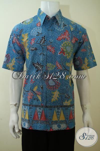 Tempat Belanja Batik Online Aman Nyaman Dan Terpercaya, Sedia Aneka Kemeja Batik Pria Harga Murah Kwalitas Bagus Cocok Untuk Kerja Dan Pesta Formal [LD3447P-XL]