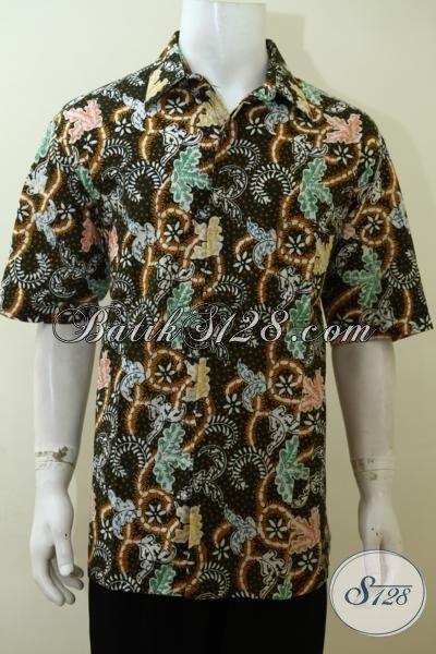 Baju Batik Trendy Motif Unik Buatan Solo Asli Kemeja
