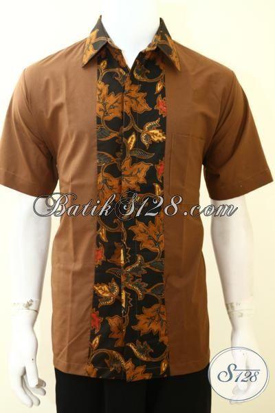 Busana Batik Printing Pria Model Paling Baru Saat Ini