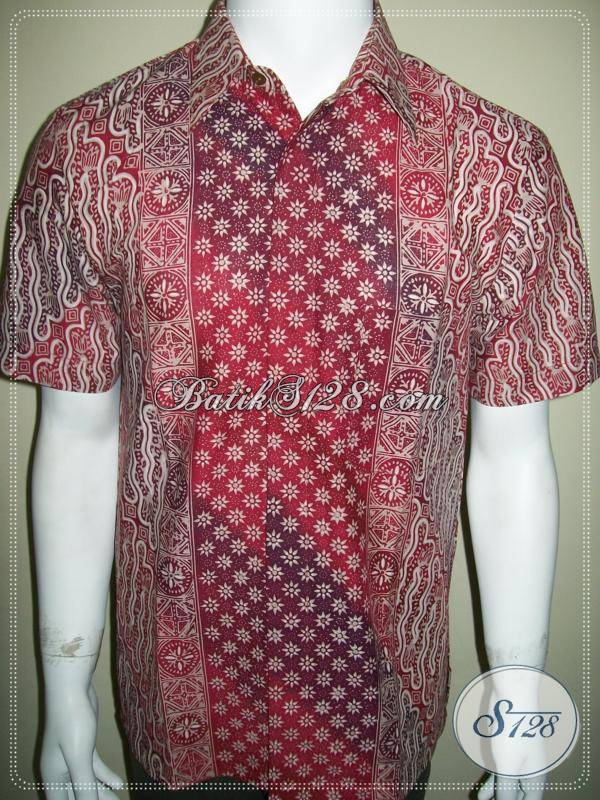 Batik Parang Cap Tulis Gradasi, Kemeja Batik Mewah Elegan Berkelas [LD352CTG-M]