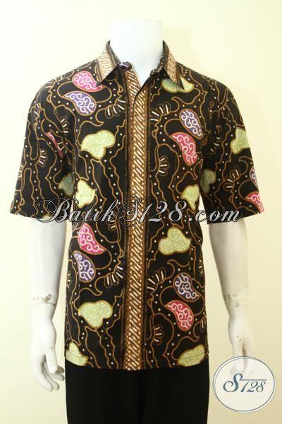 Busana Batik Keren Aneka Motif Paling Baru, Batik Modern Untuk Cowok Tampil Lebih Stylist [LD3593CT-XL]