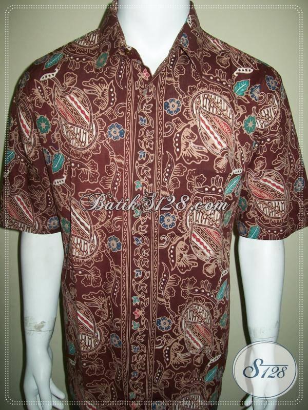 Baju Batik Pria Lengan Pendek Untuk Kerja Kantor Para Pegawai atau Karyawan