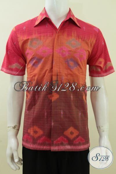 Pusat Baju Tenun Online Terlengkap Dan termurah, Sedia Baju Tenun Istimewa Kwalitas Premium Motif Terbaru Yang Lebih Modern [LD3709NF-M]