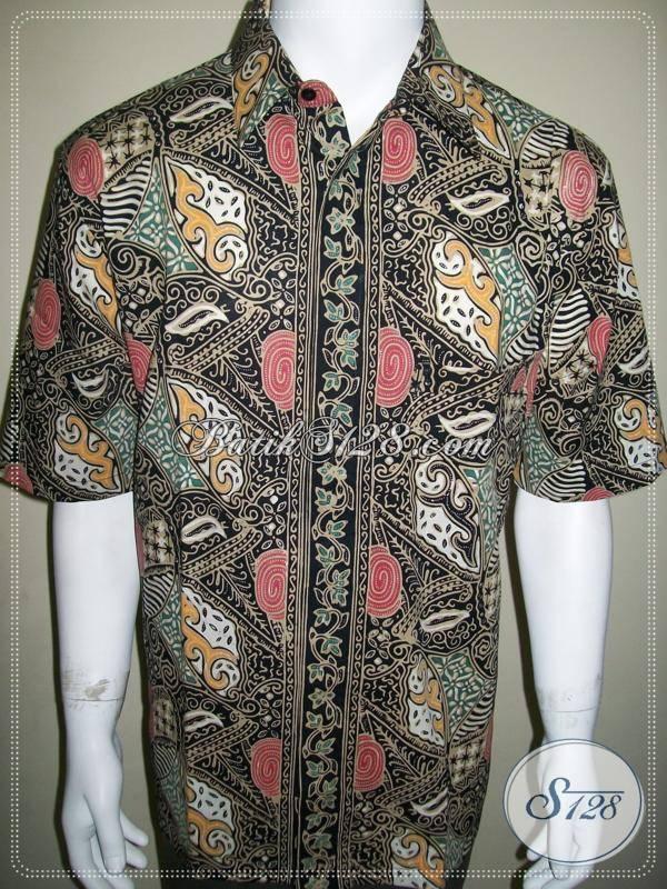 Kemeja Batik Unik Solo Ukuran XL Dijual Online  Baju Batik Modern