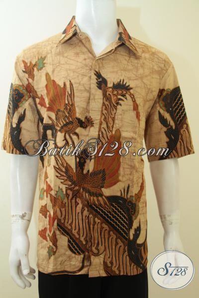Batik Modern Untuk Pria Berkelas, Berprestasi, Sukses, Batik Tulis Terbaru [LD3781T-XL]