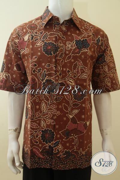 Pusat Batik Pria Bagus Ukuran Besar, Berkualitas, Lengan Pendek, Modis, Maco Dan Elegan [LD3848BT-XXL]