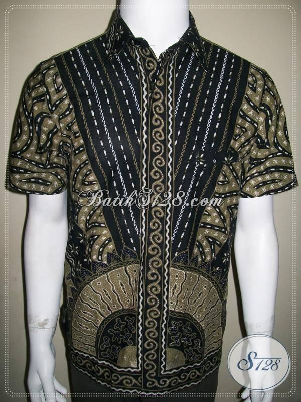 Kemeja Batik Halus Pria Modern Asli Solo, Batik Tulis Dijual Online