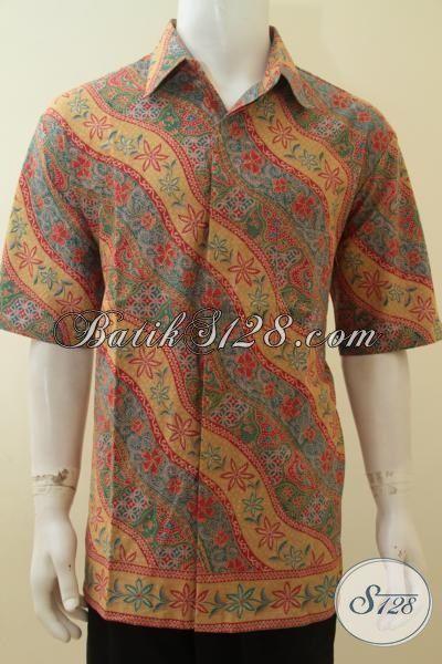 Busana Kerja Batik Klasik Harga Murmer, Pakaian Batik Lelaki Size Super Jumbo, Bahan Halus Adem Nyaman di Pakai XXXL
