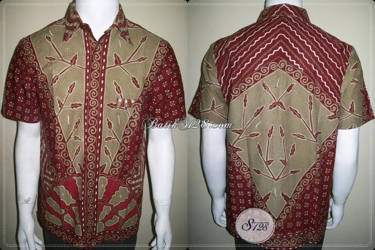 Baju Batik Tulis Motif Unik Kain Katun Primisima Halus LD386TM