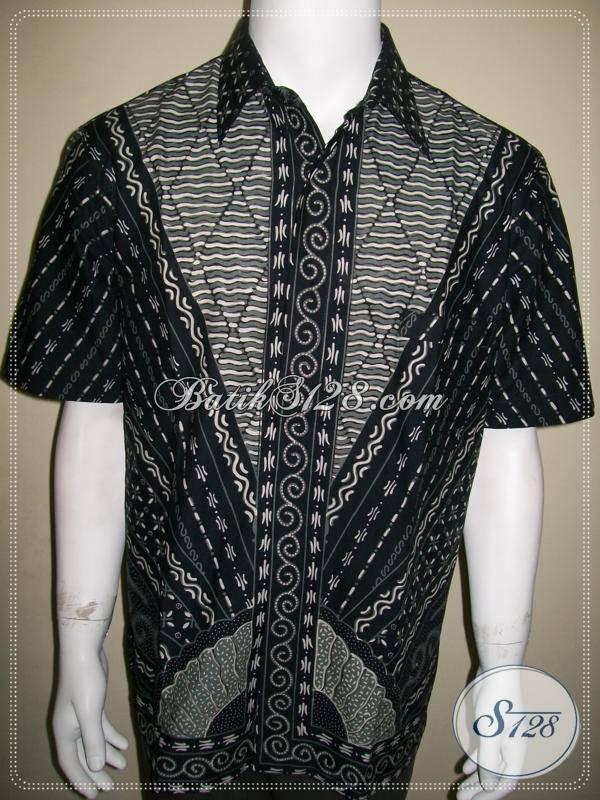 Batik Pria Lengan Pendek Dijual Online, Batik Solo [LD389T-L]