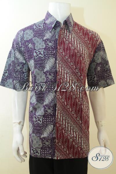 Pakaian Batik Dua Motif Unik Dan Menarik, Busana Batik Cap Tulis