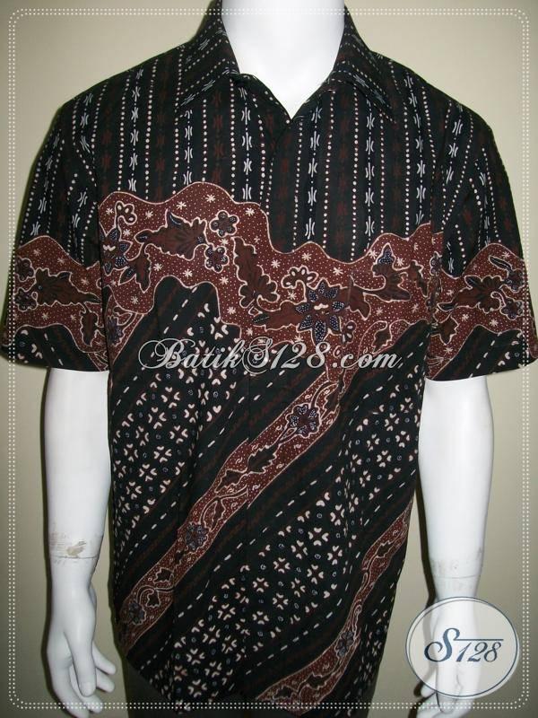 Batik Pria Gaya Jogja Modern Kontemporer Kemeja Batik