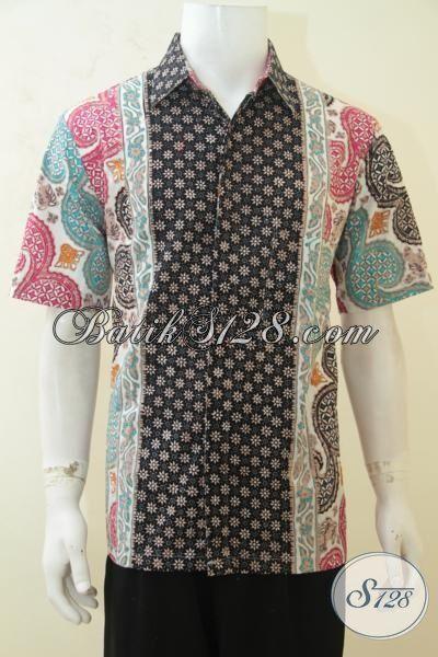 Trend Busana Hem Batik 2015, Baju Batik Tiga Motif Dengan Kombinasi Warna Yang Atraktif Serta Menarik, Bisa Untuk Santai Dan Acara Resmi [LD4144CT-L]