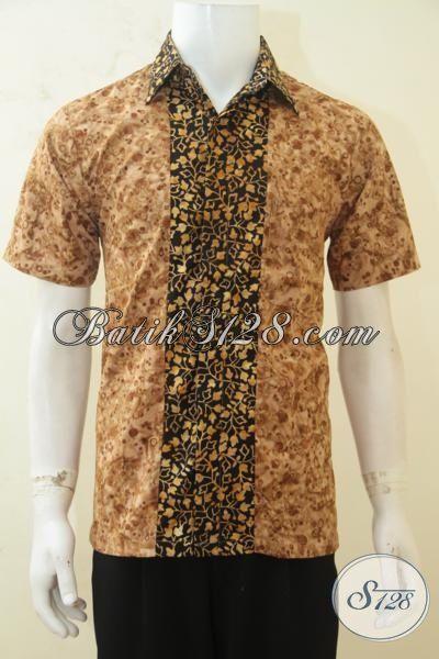 Hem Batik Jawa Modern Untuk Pria Baju Batik Lengan Pendek