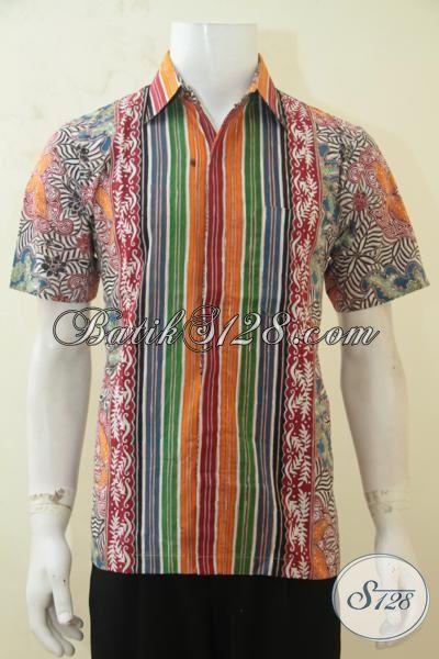 Busana Batik Halus Lengan Pendek Kwalitas Premium Pakaian