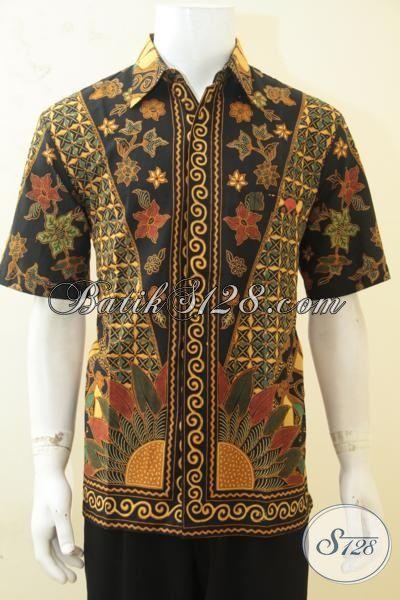 Tempat Beli Aneka Baju Batik Pria Jual Online Hem Batik